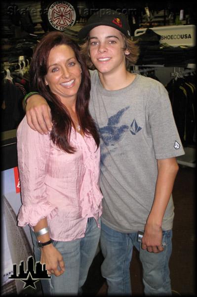 Mom ryan sheckler Ryan Sheckler