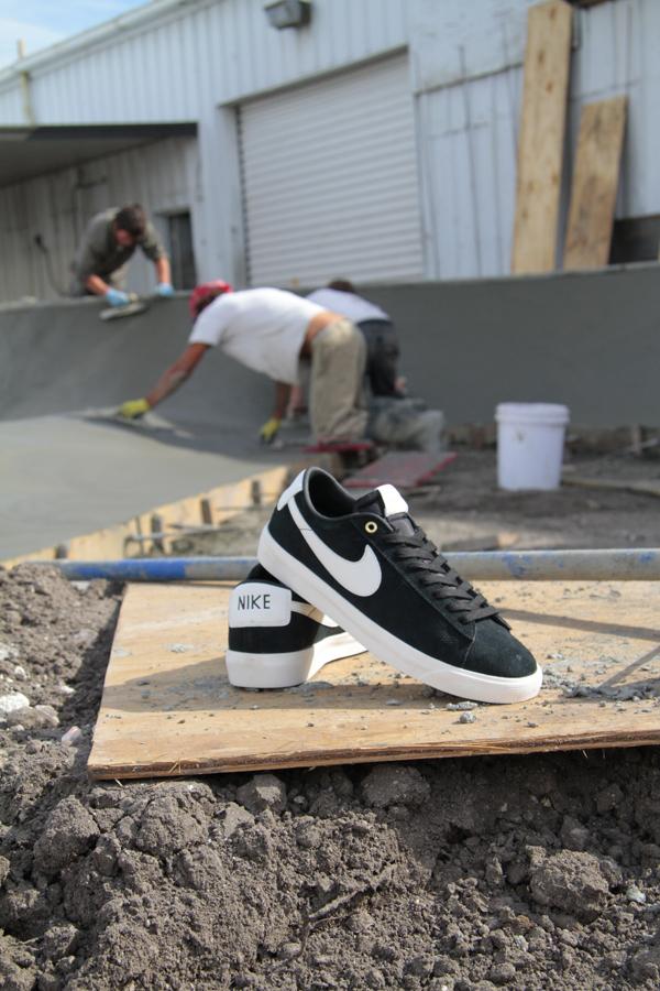new style e3db2 49930 Nike SB GT Blazer Shoe Release