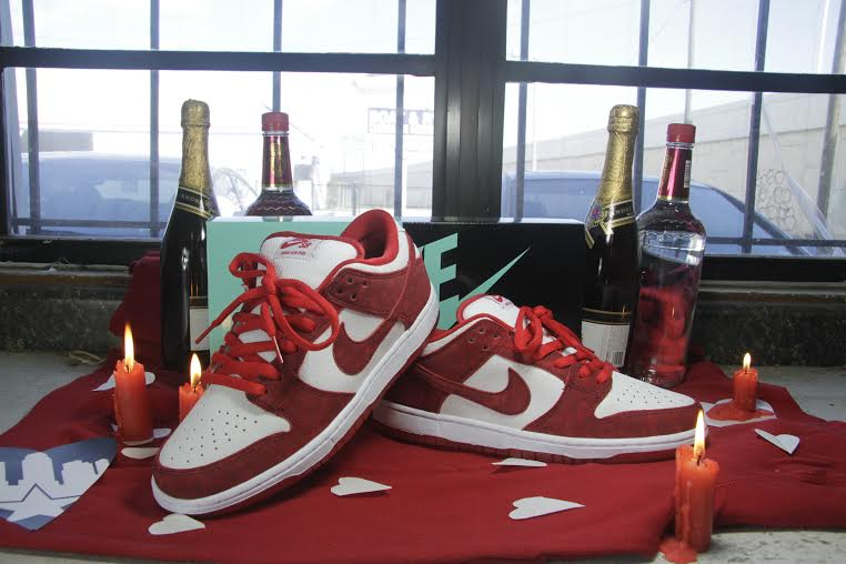 Nike Sb Valentine S Day Dunk Low Release Post At Skatepark Of Tampa