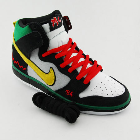watch 66c26 3f86a Nike SB Dunk High McRad Review Article at Skatepark of Tampa