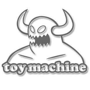 Toy Machine Dead Text T Shirt