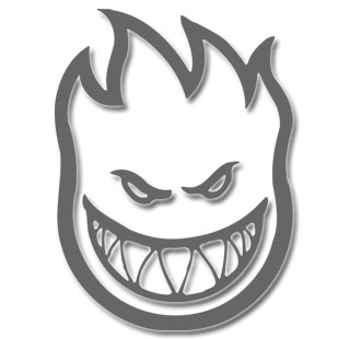 Spitfire Bolt Bighead Small Sticker