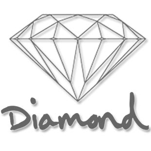 Diamond Retro T Shirt