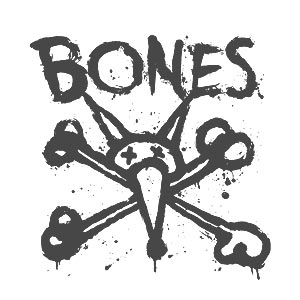 Bones Wheels Boxer T Shirt