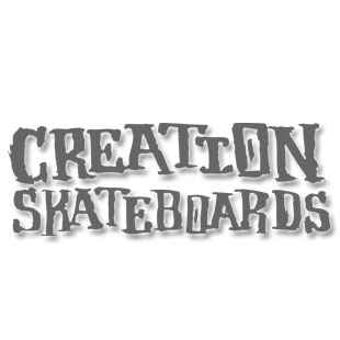 Creation Skateboards Two Tone Font Team Deck
