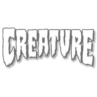 Creature Skateboards Logo 3/4 Sleeve Raglan Shirt