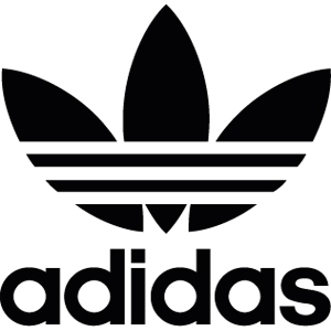 adidas Big Logo Zip-Up Hooded Sweatshirt