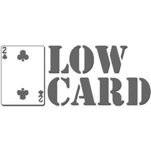 Lowcard Magazine Medium Card T Shirt