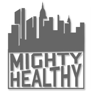 Mighty Healthy Sunset T Shirt