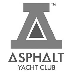 Asphalt Yacht Club Triangle Crew Neck Fleece Sweatshirt