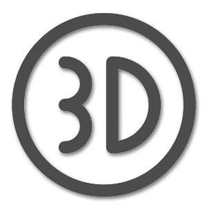 3D Logo Sticker