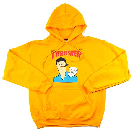 thrasher magazine gonz cover pullover hooded sweatshirt in