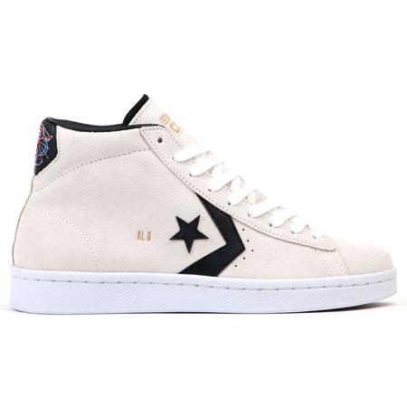 Converse Pro Leather Al Davis Suede High Top Shoes
