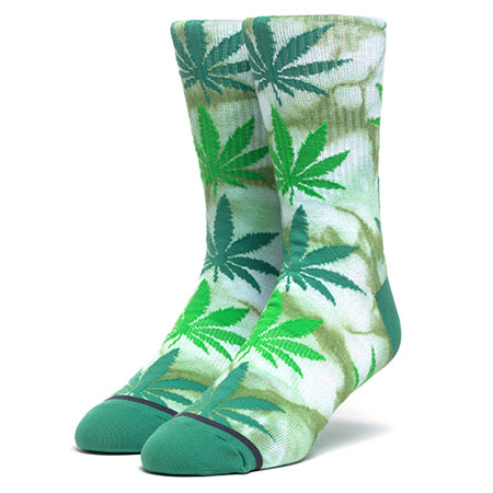 b542eddfdbc HUF Plantlife Tye-Dye Socks in stock at SPoT Skate Shop