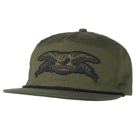 99e25d0a9481b Anti-Hero Basic Eagle Snap-Back Hat in stock at SPoT Skate Shop