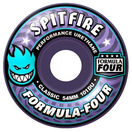 af0dbfec8ff Spitfire Formula Four 101D Classic Shape Wheels in stock at SPoT Skate Shop