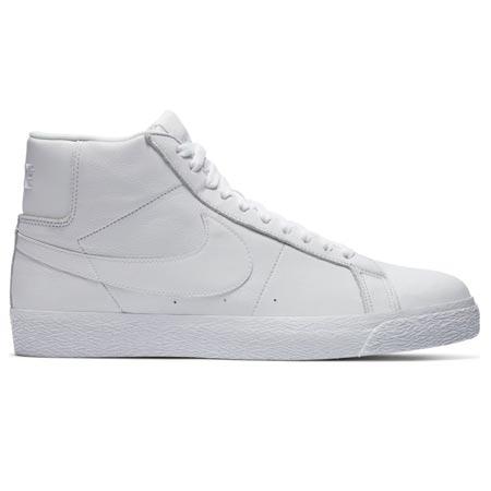 nike all white blazers