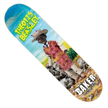 Baker Skateboards Theotis Beasley Baker Theotis Beasley Cursed
