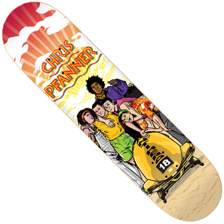 Chris Pfanner Deck Anti-hero Chris Pfanner Warm