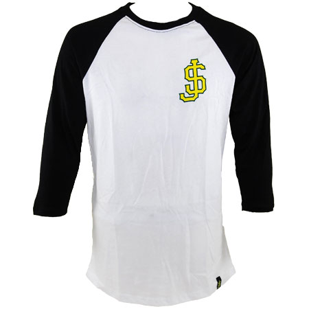 Shake Junt Big League 3/4 Sleeve Baseball T Shirt in stock at SPoT Skate Shop