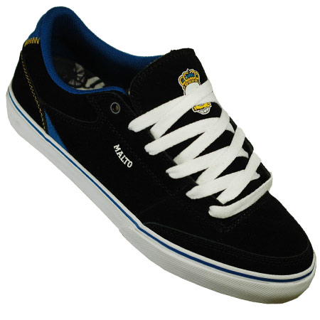 Etnies - Santiago 1.5 Skate Shoes Black/White/Orange was   55