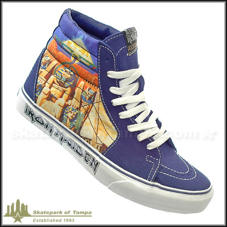Iron Maiden Vans Sk8 Hi For Sale