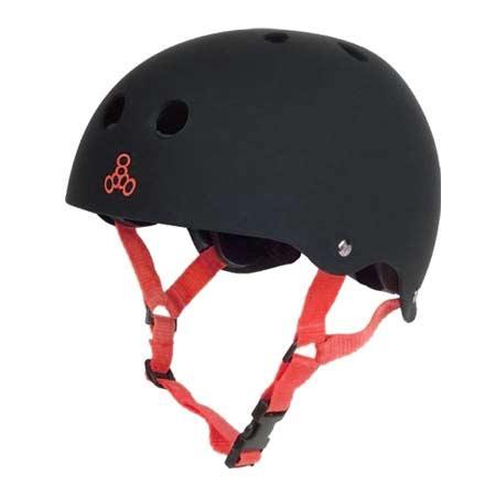 Triple 8 brainsaver rubber helmet