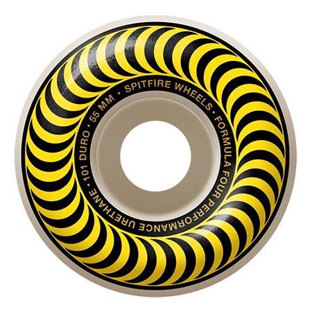 Spitfire Wheels OG Classic Yellow Coin Pouch