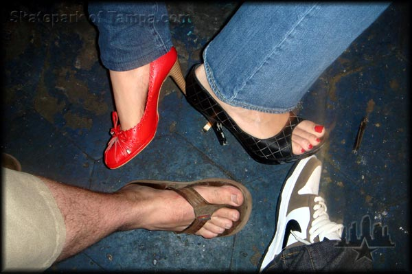 Girls, have you ever had a guy with a foot fetish