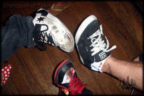Skate Shoe Fetish