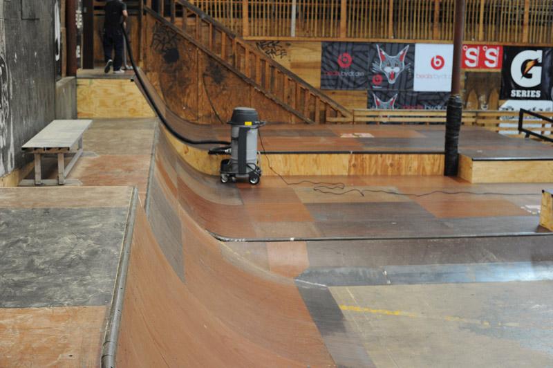 Skate Boarding in Skatepark of Tampa, Tampa, Florida USA