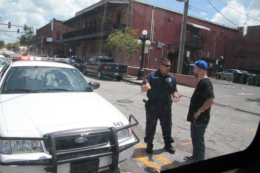 police nosegrind demo