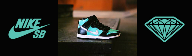 new product 70971 0e827 Nike SB x Diamond Dunk High Release Post at Skatepark of Tampa