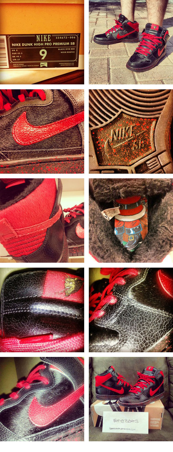 the best attitude 20411 c762f Nike SB Dunk High Sean Cliver Krampus Review Article at ...