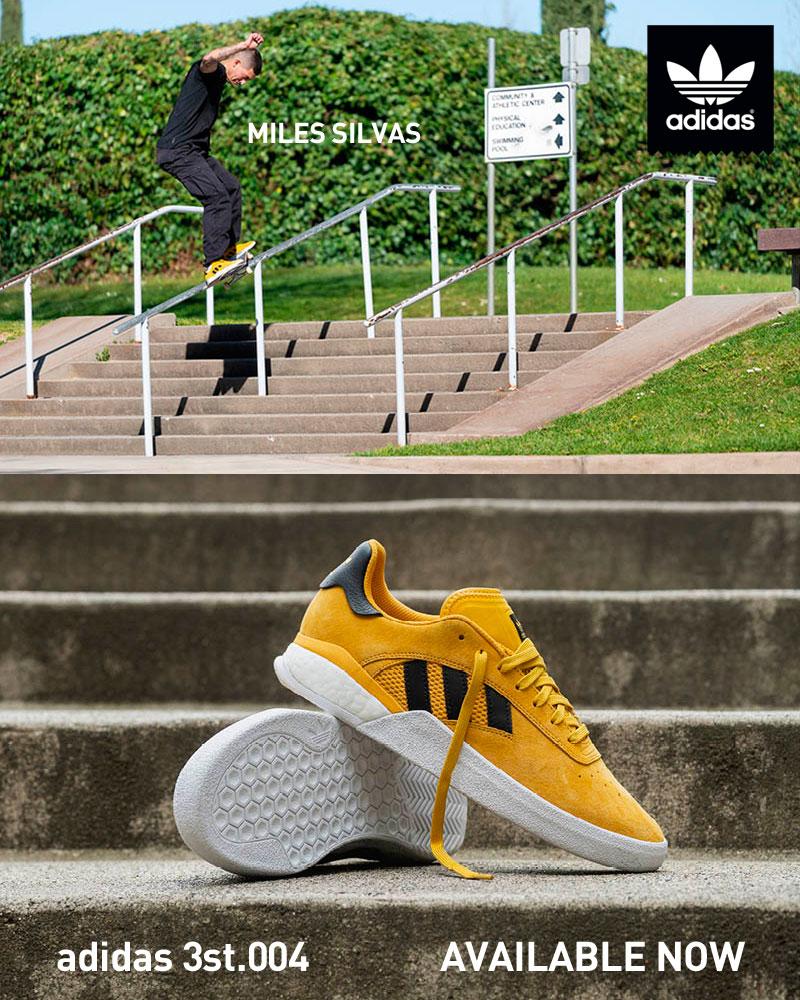 adidas Miles Silvas Mobile