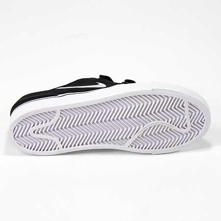 Nike Stefan Janoski AC PS Shoes, Black/ White Photos. Close up. Back. Sole