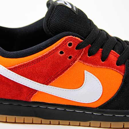 the best attitude 0e69f ec0d3 Nike Dunk Low Pro SB NT Shoes, Black  White  Cinnabar Photos