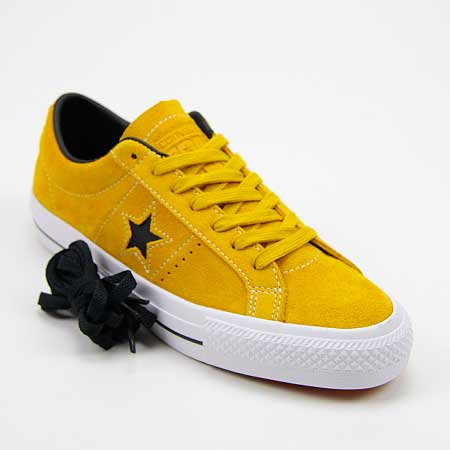 converse one star yellow bird