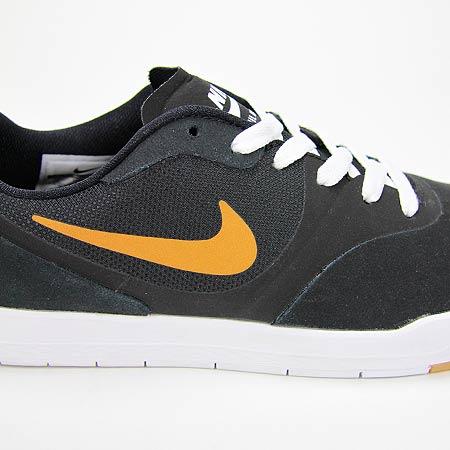 ... nike paul rodriguez 9 cs shoes black metallic gold white photos