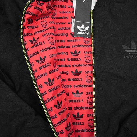 adidas Spitfire x Adidas Silas Baxter-Neal Quilted Zip-Up Coaches Jacket 08d719163
