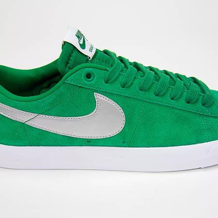 huge discount 70900 849f4 Nike Blazer Low GT Shoes, Pine Green  Metallic Silver  Wolf Grey  White  Photos
