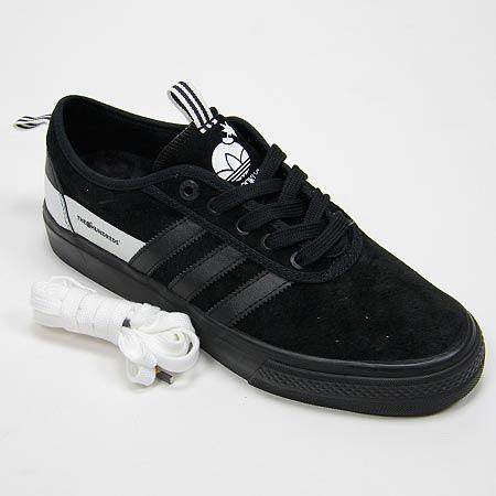 timeless design 75e7b b4df0 adidas The Hundreds x Adidas Adi Ease Shoes, Black Black Run