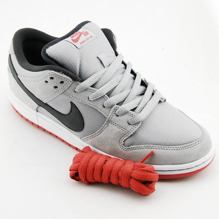 super popular 6e71e d61bb Nike Dunk Low Pro SB NT Shoes, Wolf Grey  Anthracite  Light Redwood Photos.  Sole. Back. Laces