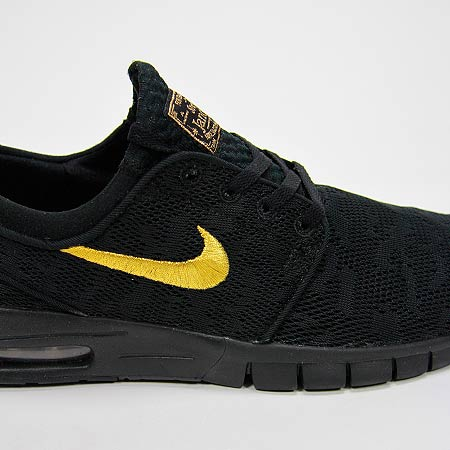 cheap for discount 0bde5 4a0d1 ... Nike Stefan Janoski Max QS Shoes, Black Metallic Gold Black Photos ...
