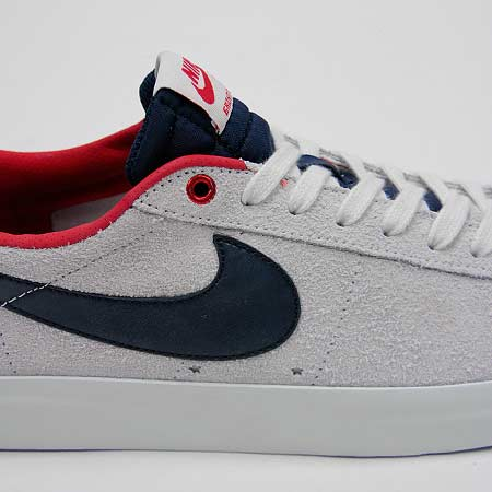 sports shoes 358ef d84c2 Nike Blazer Low GT Shoes, Summit White Obsidian  University Red Photos