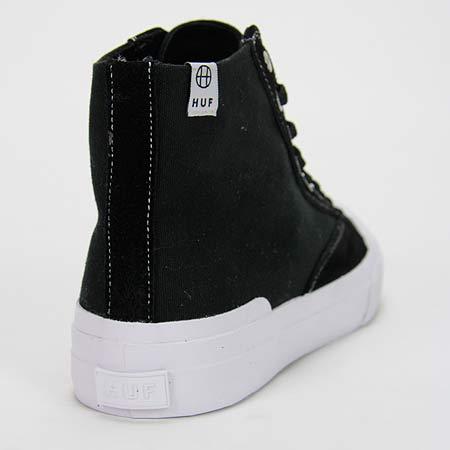 HUF Classic Hi ESS Shoes, Black White Photos