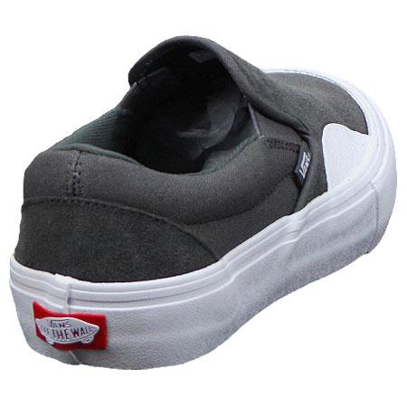 vans slip on pro grey