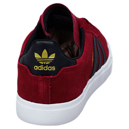 huge selection of 85273 2e4fb adidas Campus Vulc II Shoes, Collegiate Burgundy Core Black Feather White  Photos