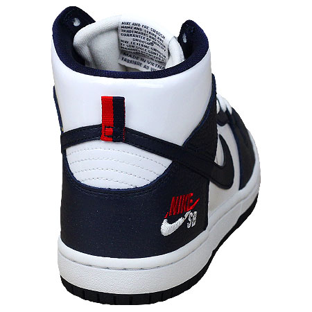 purchase cheap f7ef1 05306 Nike SB Zoom Dunk High Pro Future Court Shoes, Obsidian  Obsidian  White  Photos