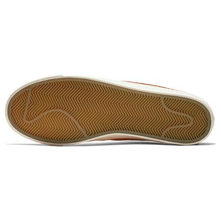 san francisco 9122b 4c292 Nike Blazer Low Grant Taylor QS Shoes, Circuit Orange  Natural  Team Red  Photos. Top. Heel. Sole